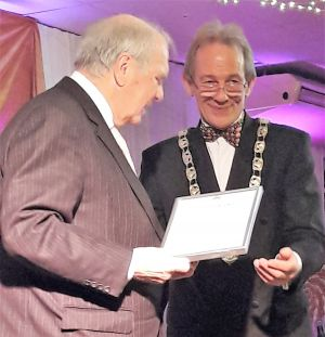 Civic Award Winner: Rotary Club Secretary: David Clout