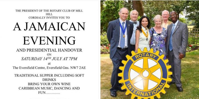 Jamaican Evening for Mill Hill Handover
