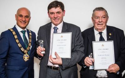 Rotarians receive Civic Awards 2018
